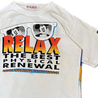 ディズニー(Disney)の90's Disney ミッキー Tシャツ ディズニー ヴィンテージ (Tシャツ/カットソー(半袖/袖なし))