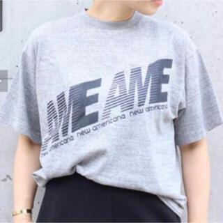 アメリカーナ(AMERICANA)のLay's7様専用 Ame Tシャツ(Tシャツ(長袖/七分))