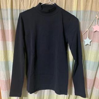 ムジルシリョウヒン(MUJI (無印良品))の無印 ハイネックTシャツ(Tシャツ(長袖/七分))