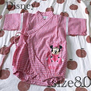 ディズニー(Disney)の甚平ロンパース ミニーちゃん(甚平/浴衣)