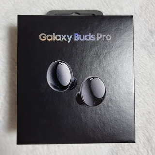 ギャラクシー(Galaxy)のGalaxy Buds Pro ファントムブラック 黒 日本版正規品(ヘッドフォン/イヤフォン)