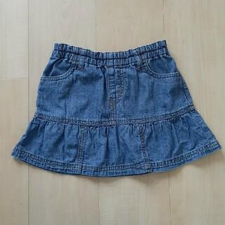 ユニクロ(UNIQLO)のUNIQLO デニム スカート 110~125(スカート)
