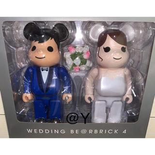 メディコムトイ(MEDICOM TOY)のBE@RBRICK グリーティング結婚 4 PLUS 400% WEDDING(その他)