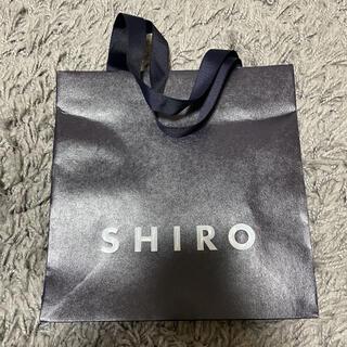 シロ(shiro)のSHIRO ショップ袋 紙袋 新品未使用 美品(ショップ袋)