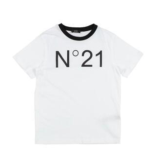 ヌメロヴェントゥーノ(N°21)のラスト1点のみ!新品♡大人も着用可♡N°21♡ロゴTシャツ♡S相当(Tシャツ(半袖/袖なし))
