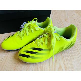 adidas - adidas エックスゴースト.4 イエロー系 サッカースパイク 20㎝