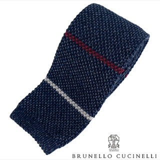 ブルネロクチネリ(BRUNELLO CUCINELLI)の新品未着用 BRUNELLO CUCINELLI ネクタイ ニットタイ(ネクタイ)
