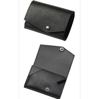 PORTER - 【abrAsus (アブラサス)】小さい財布 エンボスレザー ブラック