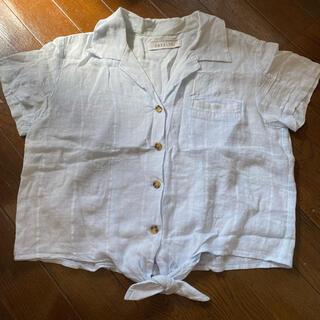 ダズリン(dazzlin)のdazzlin 半袖 水色シャツ(シャツ/ブラウス(半袖/袖なし))