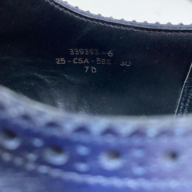 J.M. WESTON(ジェーエムウエストン)のJ.Mウェストン 588ウィングチップ 7.0 メンズの靴/シューズ(ドレス/ビジネス)の商品写真