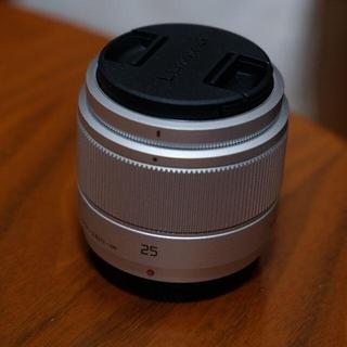 Panasonic - LUMIX G 25mm/F1.7 ASPH. H-H025-S [シルバー]