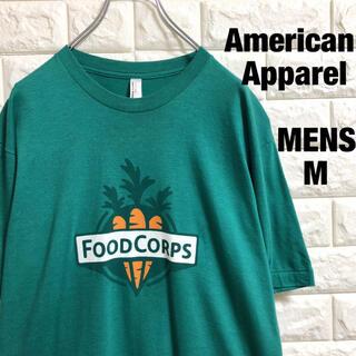 アメリカンアパレル(American Apparel)のアメリカンアパレル にんじんプリント Tシャツ メンズMサイズ(Tシャツ/カットソー(半袖/袖なし))