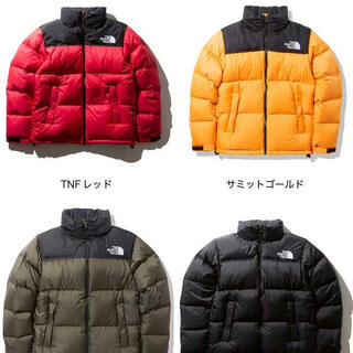 THE NORTH FACE - the north face ヌプシ サミットゴールド
