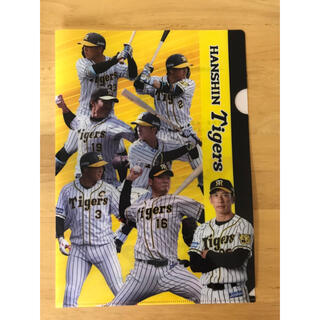 ハンシンタイガース(阪神タイガース)の阪神タイガース クリアファイル、割引券(クリアファイル)