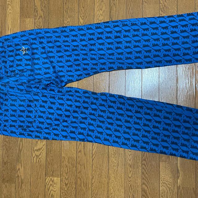 Supreme(シュプリーム)のsupreme washed regular jeans panther 34 メンズのパンツ(デニム/ジーンズ)の商品写真