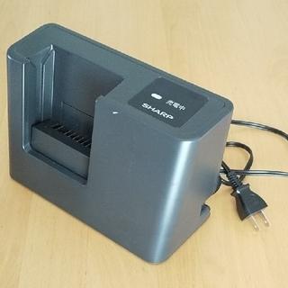 シャープ(SHARP)の SHARP コードレス掃除機用バッテリー充電器  EC-SX200(掃除機)