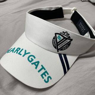 パーリーゲイツ(PEARLY GATES)のパーリーゲイツ サンバイザー 帽子 キャップ ジャックバニー アルチビオ(キャップ)