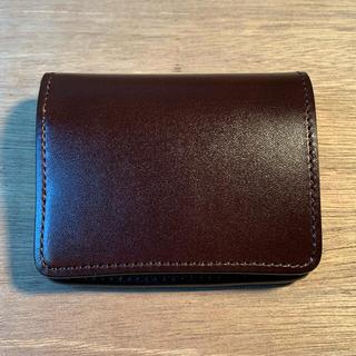 ガンゾ(GANZO)のワイルドスワンズ  kf-003 サドルプルアップ チョコ(折り財布)