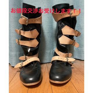 ヴィヴィアンウエストウッド(Vivienne Westwood)の☆ほぼ新品未使用☆ヴィヴィアン ウエストウッド パイレーツブーツ 26センチ(ブーツ)