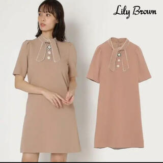 Lily Brown - リリーブラウン♡ビジューワンピース