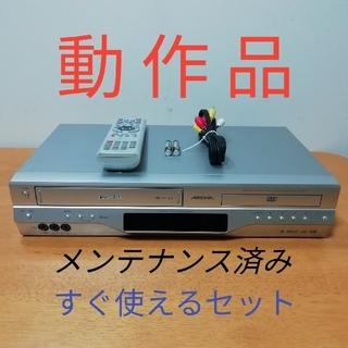 東芝 - 東芝DVD一体型VHSビデオデッキ【SD-V600】動作品メンテナンス済み