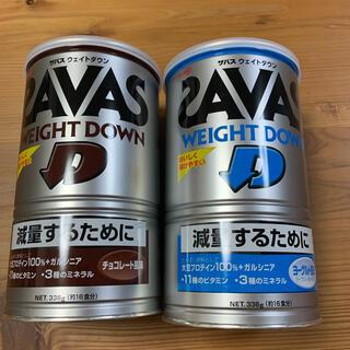ザバス(SAVAS)のザバス ウェイトダウン ヨーグルト風味 チョコレート風味(ダイエット食品)