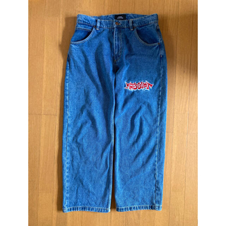 Supreme - rassvet Embroidered patch jeans  paccbet