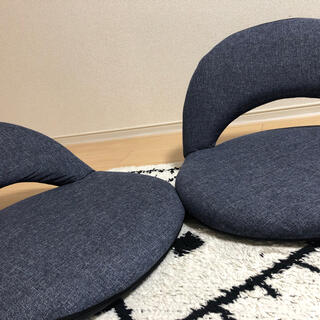 ニトリ(ニトリ)の座椅子 2個セット(座椅子)