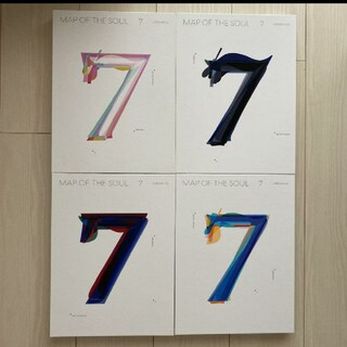 BTS MAP OF THE SOUL 7 4形態セット(K-POP/アジア)