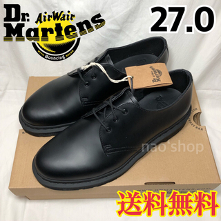 Dr.Martens - 新品◉ドクターマーチン MONO ブラック 1461 3ホールギブソン 27.0