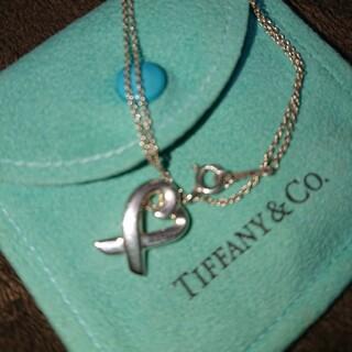 ティファニー(Tiffany & Co.)のティファニーネックレス ラブィングハート(ネックレス)