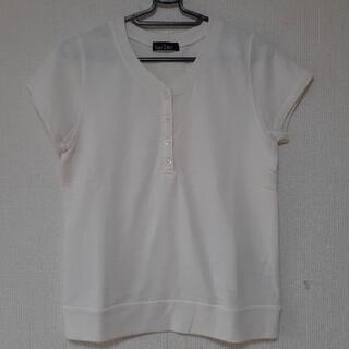 イーストボーイ(EASTBOY)のイーストボーイ 未着品 少しクリームがかった白色 サイズS~SM(Tシャツ(半袖/袖なし))