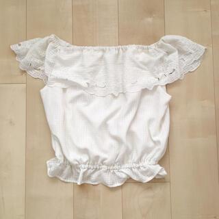 ナイスクラップ(NICE CLAUP)のオフショル ブラウス カットソー トップス(シャツ/ブラウス(半袖/袖なし))