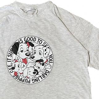 ディズニー(Disney)のDisney ディズニー 101匹ワンちゃん Tシャツ ヴィンテージ  オールド(Tシャツ/カットソー(半袖/袖なし))