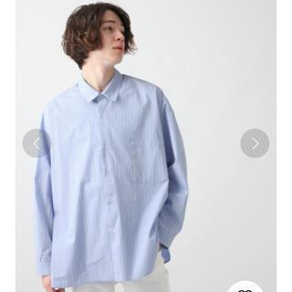 HARE BIGストライプシャツ
