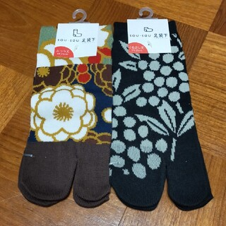 ソウソウ(SOU・SOU)のSOU・SOU  足袋下 靴下 2枚セット(ソックス)