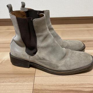 グッチ(Gucci)のGUCCI グッチ スウェード サイドゴアブーツ(ブーツ)
