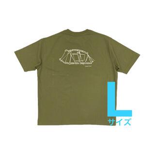 スノーピーク(Snow Peak)のLサイズ【新品】2021雪峰祭 Lock Printed Pocket Tシャツ(Tシャツ/カットソー(半袖/袖なし))