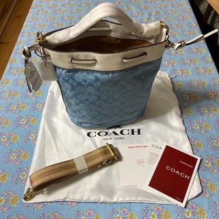 コーチ(COACH)のコーチ バケットバッグ(かごバッグ/ストローバッグ)