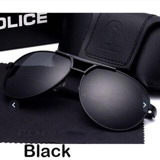 ポリス(POLICE)の【POLICE】新品 ティアドロップサングラス ブラック(サングラス/メガネ)