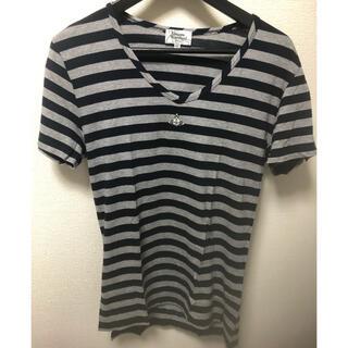 ヴィヴィアンウエストウッド(Vivienne Westwood)の試着のみ ヴィヴィアンウエストウッドマン オーヴ半袖Tシャツ44☆(Tシャツ/カットソー(半袖/袖なし))