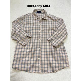 バーバリー(BURBERRY)のBurberry バーバリー ゴルフ チェックシャツ(シャツ/ブラウス(長袖/七分))