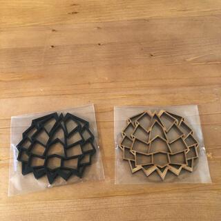 バリスティクス(BALLISTICS)のソルオル solol コースター 2枚(食器)