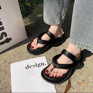 Jil Sander - cushion sandal shoes 黒 ジルサンダー マルジェラ