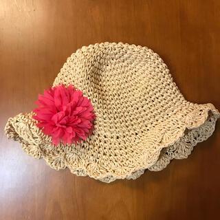 ニシマツヤ(西松屋)の女の子 帽子 50cm(帽子)