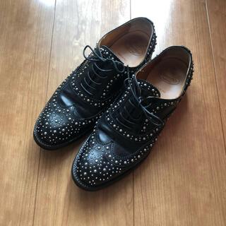 チャーチ(Church's)のchurch's チャーチ BURWOOD ブラック(ローファー/革靴)