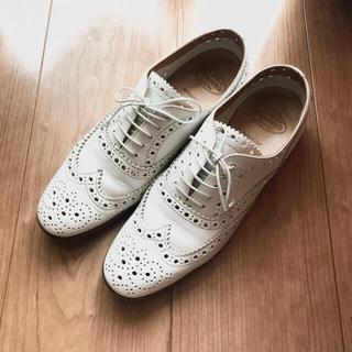 チャーチ(Church's)のChurch's バーウッド BURWOOD Ⅲ ホワイト(ローファー/革靴)