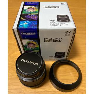 オリンパス(OLYMPUS)のオリンパス M.ZUIKO DIGITAL 25mm F1.8 ブラック(レンズ(単焦点))