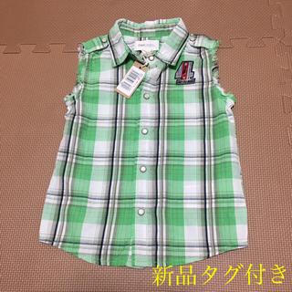 ディーゼル(DIESEL)の新品タグ付き DIESEL ノースリーブ シャツ(Tシャツ/カットソー)