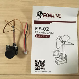 Eachine EF-02 AIO 5.8G 40CH FPV Camera(ホビーラジコン)